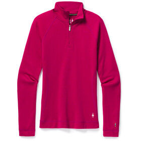 Smartwool Merino 250 Maglia Baselayer Con Zip 1/4 Donna, very berry heather